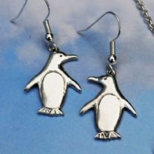 Penguin earrings E69